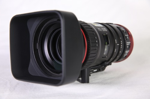 CANON CN-E 70-200 T4.4 IS KAS